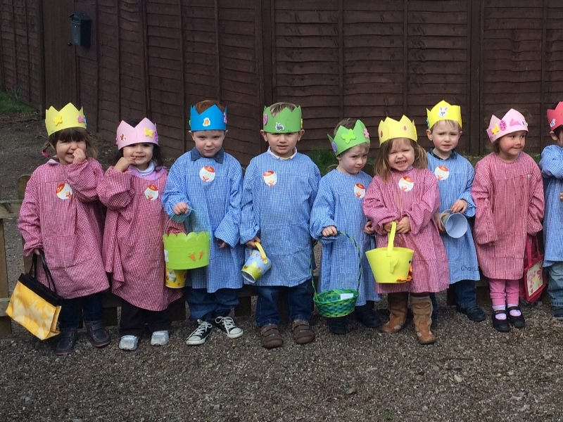 Nursery Easter Egg Hunt 1