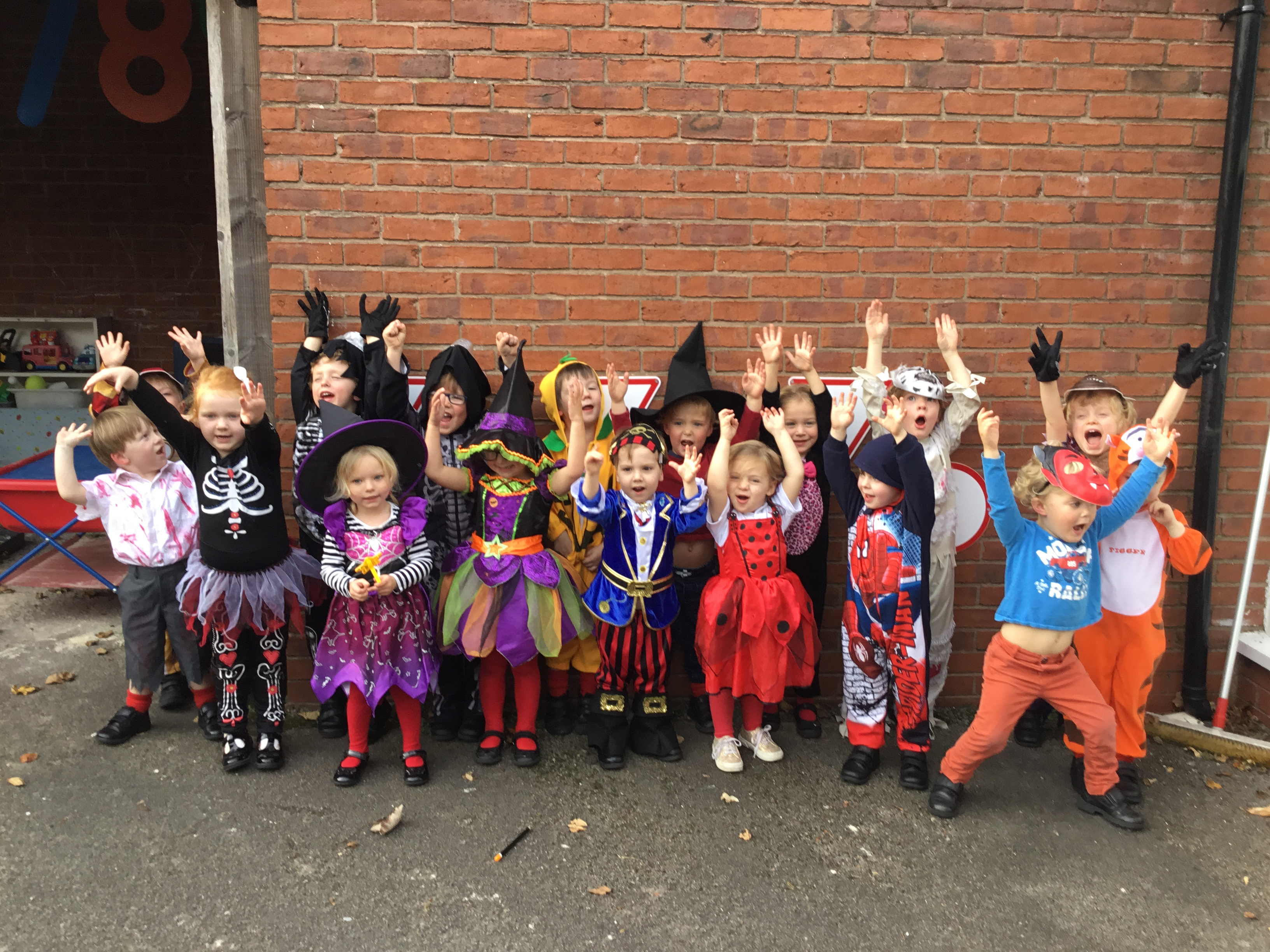 Pre-Prep Halloween Party 1