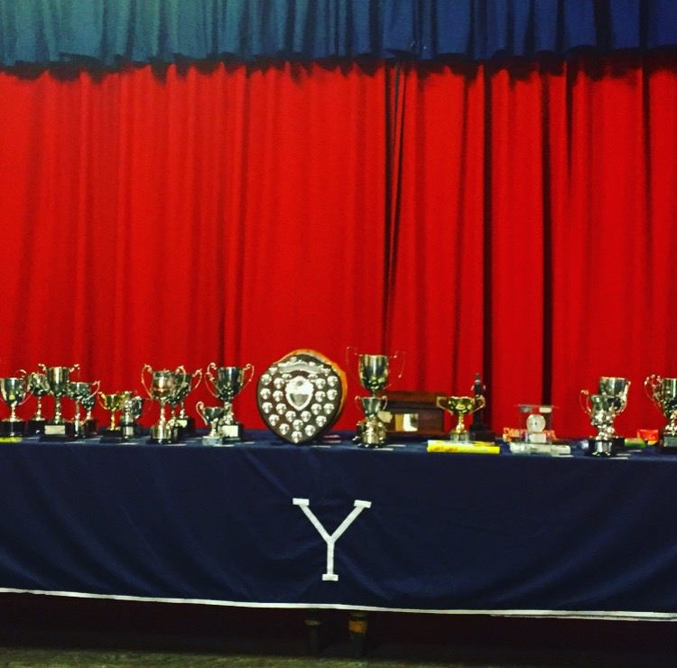 Prize Giving Trophies 2017