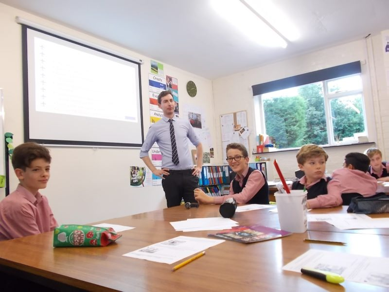 Science Visit  Henry Mackridges Visit 020