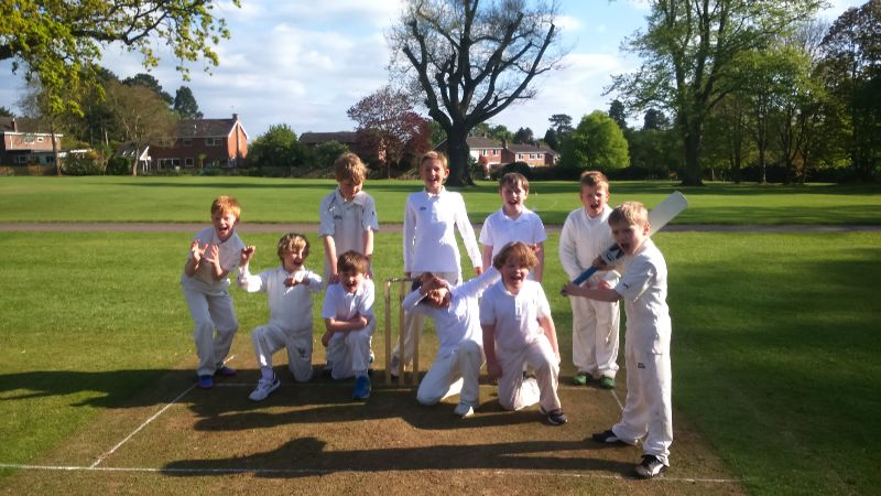 U9 Cricket v Prestfelde 3 May 2017
