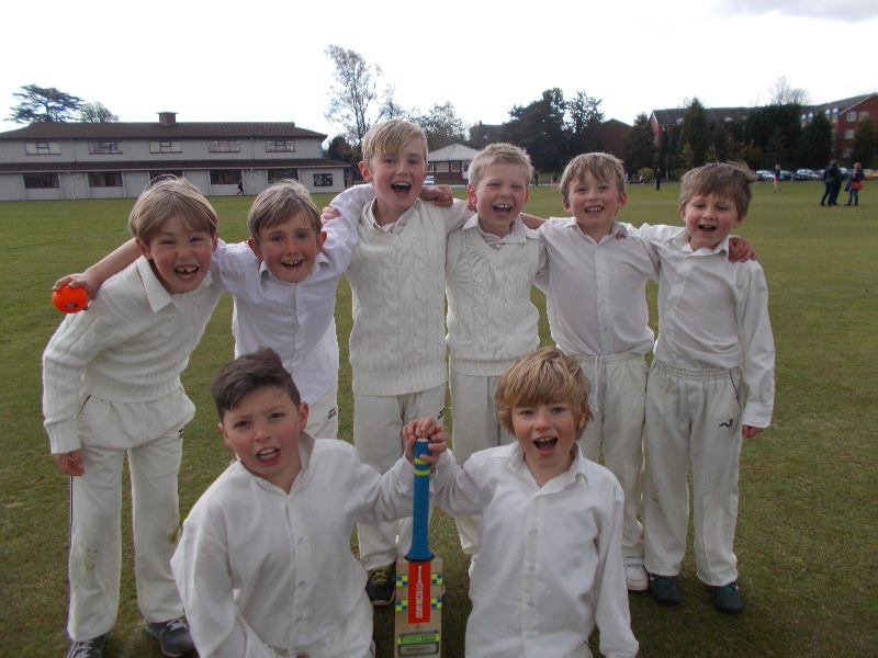 U9 Cricket v Stafford Prep 27 April 002