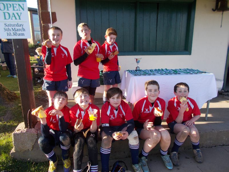 U11 Rugby Tournament at Packwood 24 Feb
