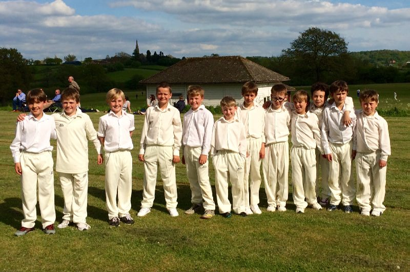 U9 Cricket Team May 2015